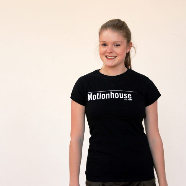 Ladies Fitted T-Shirt in Black