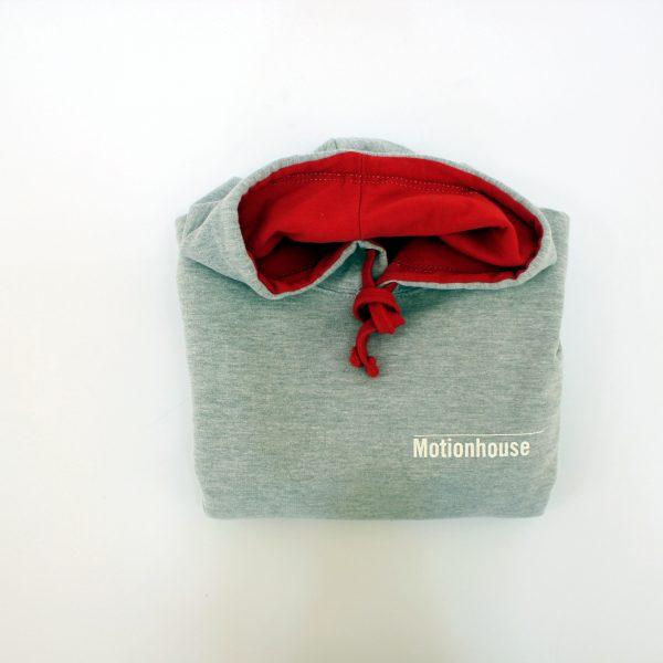 Children's Hooded Top in Grey