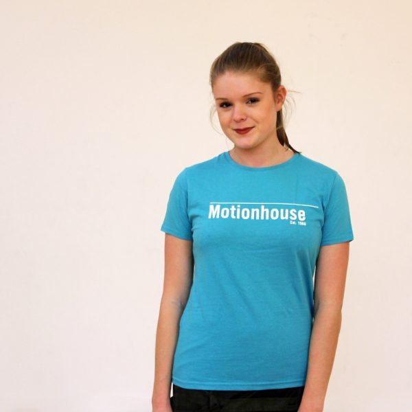 Ladies Fitted T-Shirt in Blue