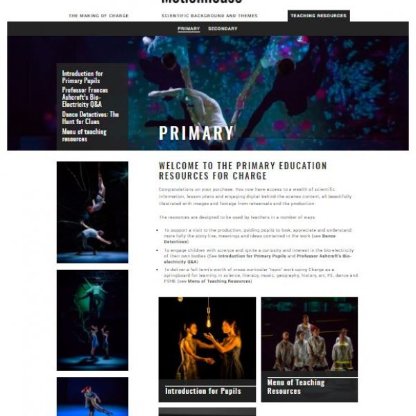 Charge Primary Education Resources